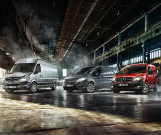 Our New Van Range
